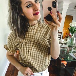 NWT XO Mandy Sue Blouse Small